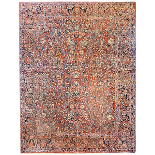 Amazing Early 20th Century Sarouk Rug