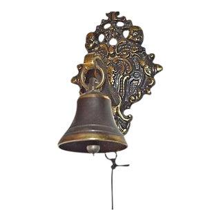 Garden or Door Bell With Cherubs