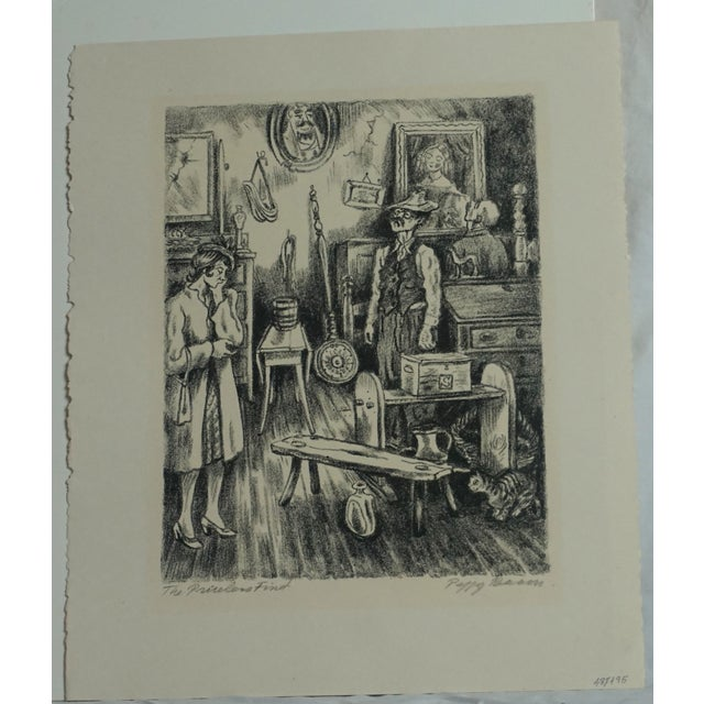 Image of Peggy Bacon The Priceless Find Lithograph