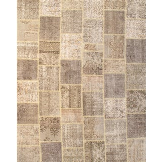Pasargad NY Hand-Knotted Patchwork Rug - 8' X10'