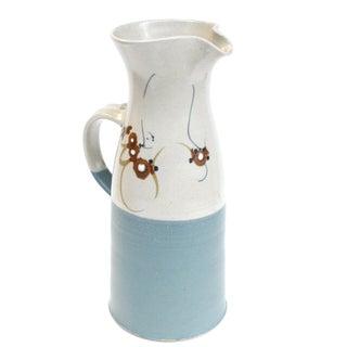Vintage Ceramic Studio Pottery Pitcher