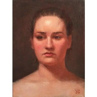 Traditional Oil Portrait