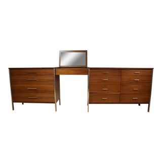 Paul McCobb Modular Dresser & Vanity Set - Set of 3