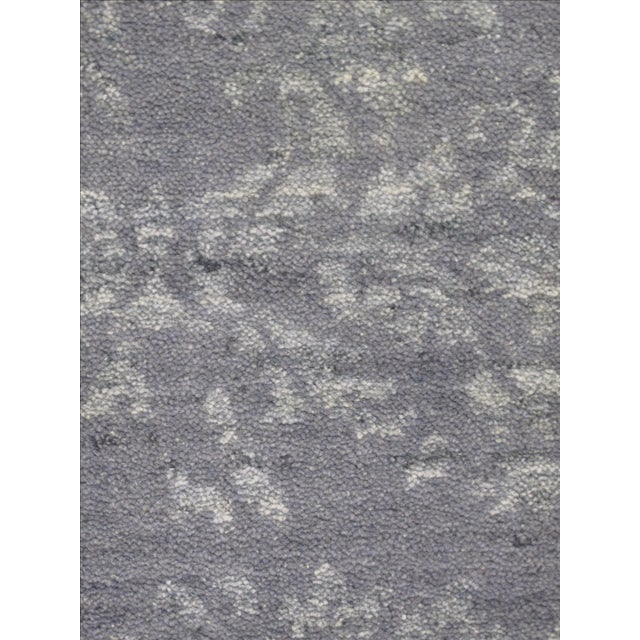 """Indian Gray Modern Rug - 5'2"""" X 7'7"""" - Image 3 of 3"""