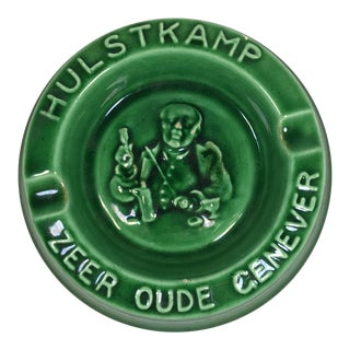 Vintage Ashtray for Hulstkamp Dutch Gin