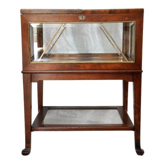 Vintage Mechanical Display Table