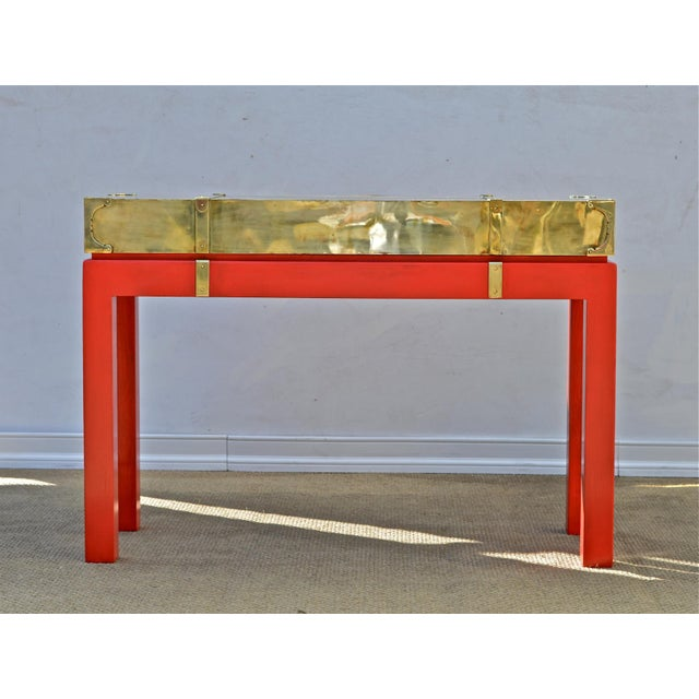Brass Campaign Style Console - Image 3 of 9