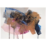 """Image of Dani Schafer """"Night Study 4"""" Abstract Painting"""