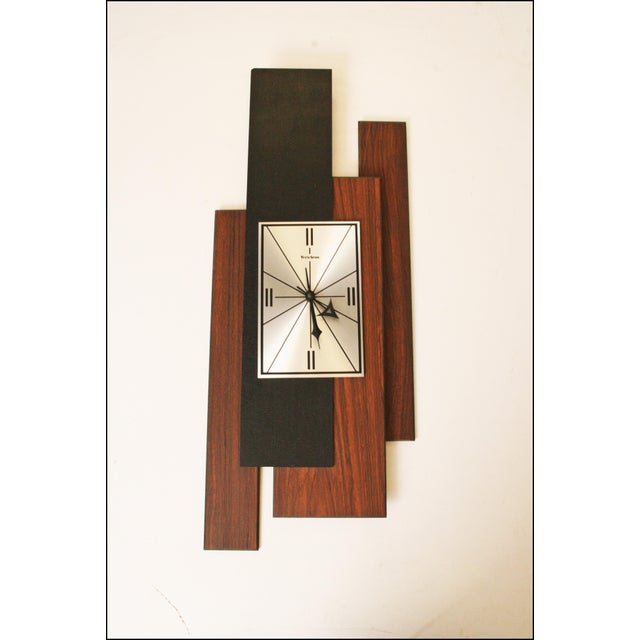 1960s Danish Modern George Nelson Style Wall Clock - Image 2 of 11