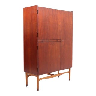 Rare Teak and Beech Cabinet/Wardrobe by Finn Juhl for Bovirke, 1950s