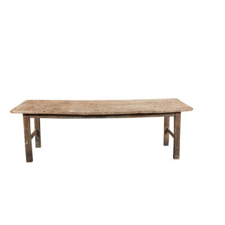 Long French Farm Table