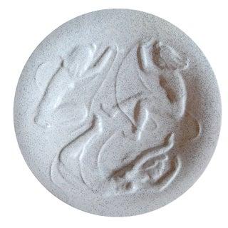 Uppsala Ekeby Bas Relief Plate