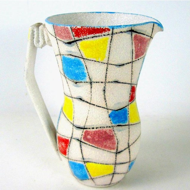 A. Londi Style Art Pottery Pitcher - Image 2 of 7