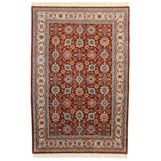"""RugsinDallas Hand Knotted Wool Indian Rug - 5'6"""" X 8'5"""""""