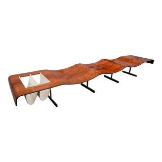 1960s Onda Bench by Jorge Zalszupin