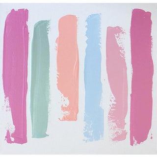"Linnea Heide ""Tout Suite"" Acrylic on Canvas Painting"