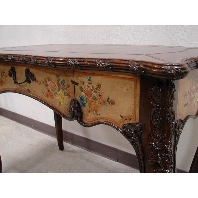 Maitland Smith Ornate French Style Desk & Vanity - Image 3 of 5