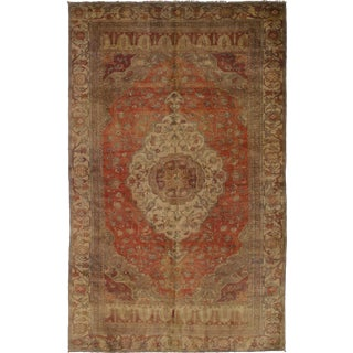 "Vintage Turkish Anadol Rug - 5'10"" x 9'6"""