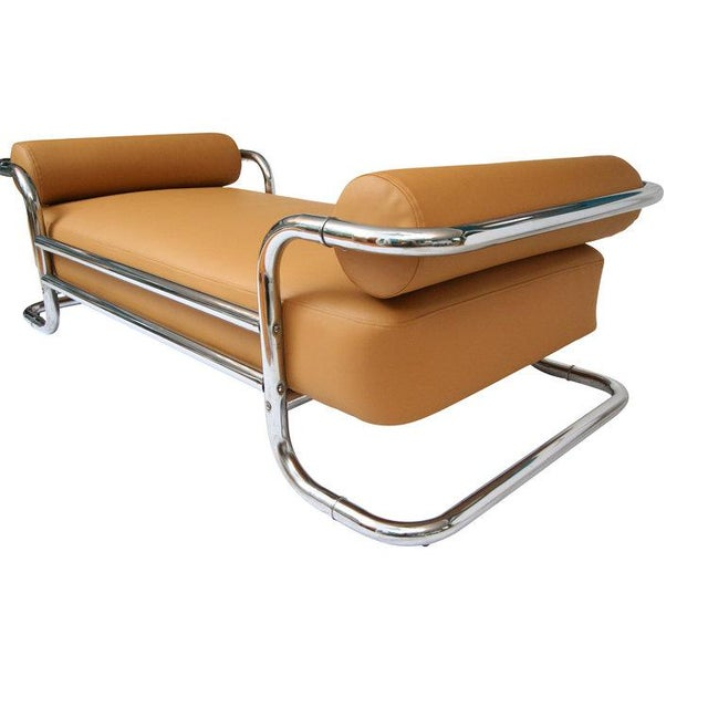 Emile Guillot for Thonet Attributed Bauhaus Daybed Sofa - Image 3 of 5
