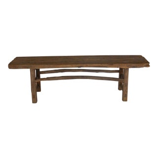 19th Century Elm Bench