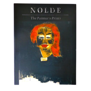 """Nolde, The Painter's Prints,"" Book"