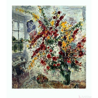 "Marc Chagall ""Window Bouquet"" 1993 Poster"
