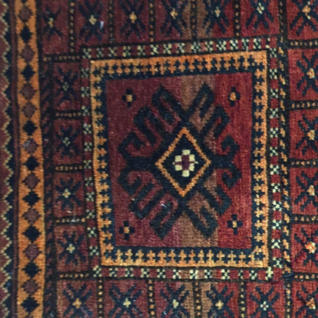 Image of Balluchi Persian Rug - 1′10″ × 1′10″