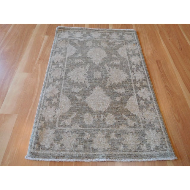 Hand-Knotted Oushak Rug - 2' x 3 - Image 4 of 7