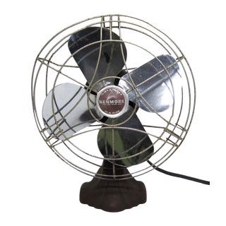 Vintage Brown Kenmore Fan