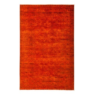 """Vibrance, Hand Knotted Area Rug - 5'2"""" X 8'"""