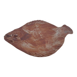 THORA Ovenware Decorative Ceramic Fish Platter .