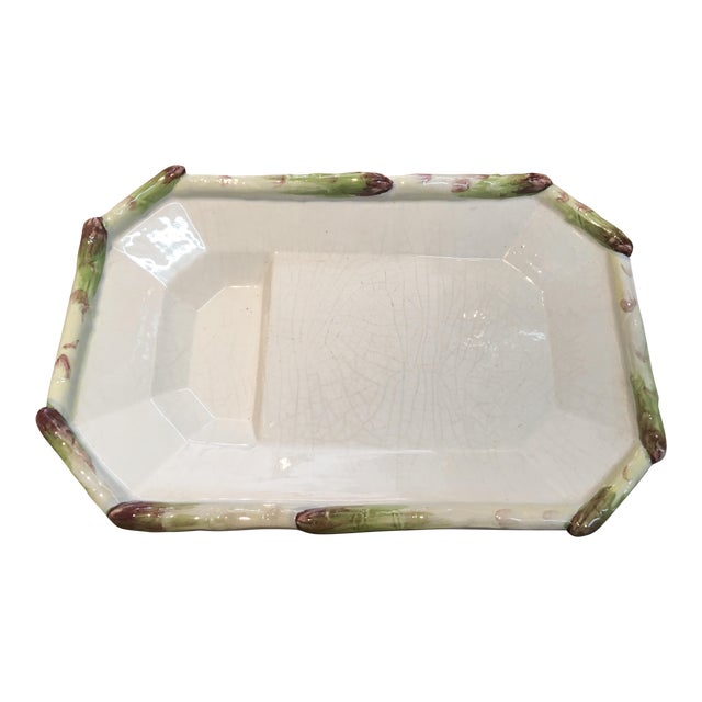 Asparagus Italian Serving Plate - Image 1 of 5