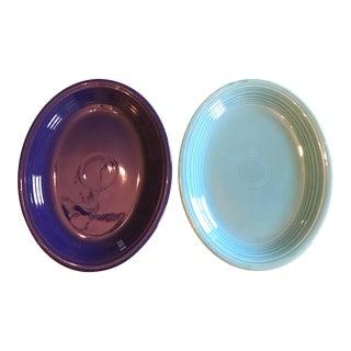 Vintage Fiesta Serving Platters - A Pair