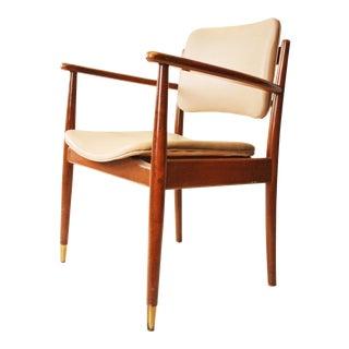 Gregson Mid Century Danish Modern Walnut Side Chair