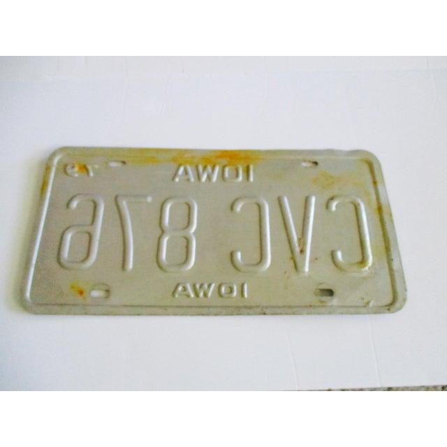 Vintage Iowa License Plate 1983 Car Auto Boho Industrial Glam Art Wall Decor - Image 3 of 3
