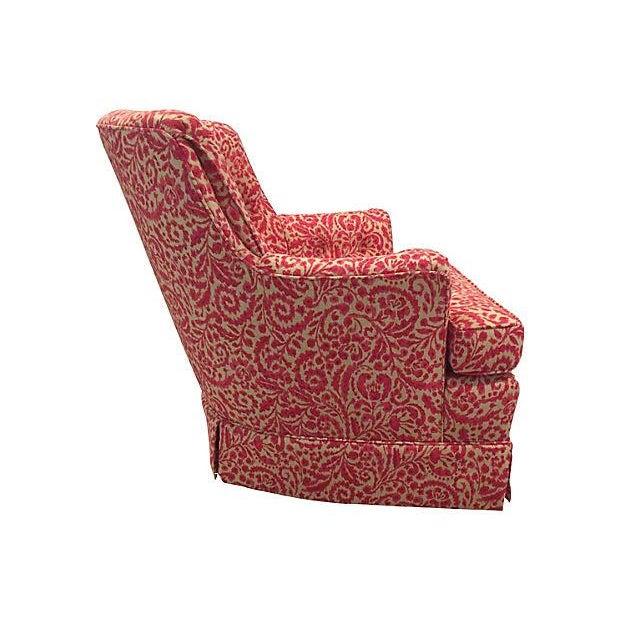 Woodmark Originals Tufted Swivel Club Chair Chairish