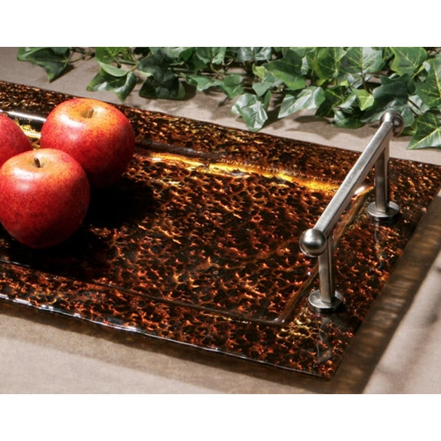 Glass Transitional Tray - Image 2 of 3