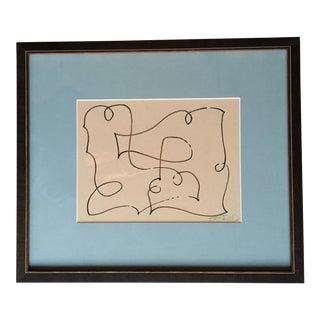 "Original Kayce Hughes Painting - ""Map in Browns"""