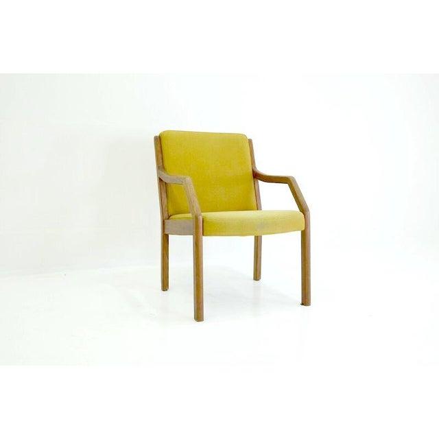 Image of Danish Mid-Century Modern Arm Chair in Teak