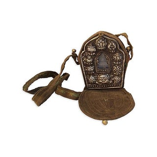 Tibetan Buddhist Traveling Prayer Bag