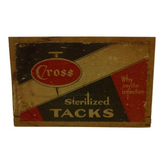 "Vintage Wood Crate Siding ""Cross Sterilized Tacks"""