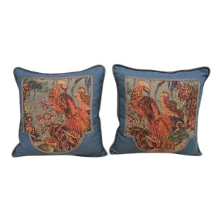 Melissa Levinson Printed Linen Pillows - Pair