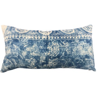 Antique Bleached Batik Pillow