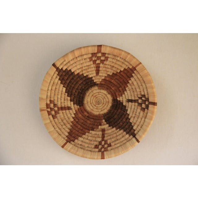 Image of Handwoven African Shallow Basket