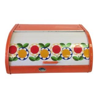 Mid-Century Modern Italian Bread Box