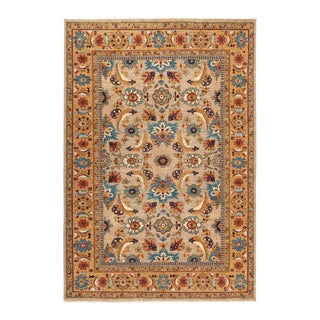 "Ziegler Hand Knotted Area Rug - 6' 1"" X 8' 7"""
