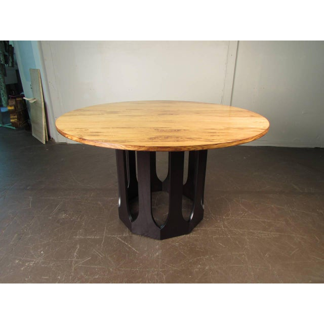 Harvey Probber Bleached Rosewood & Mahogany Dinette Table - Image 5 of 6