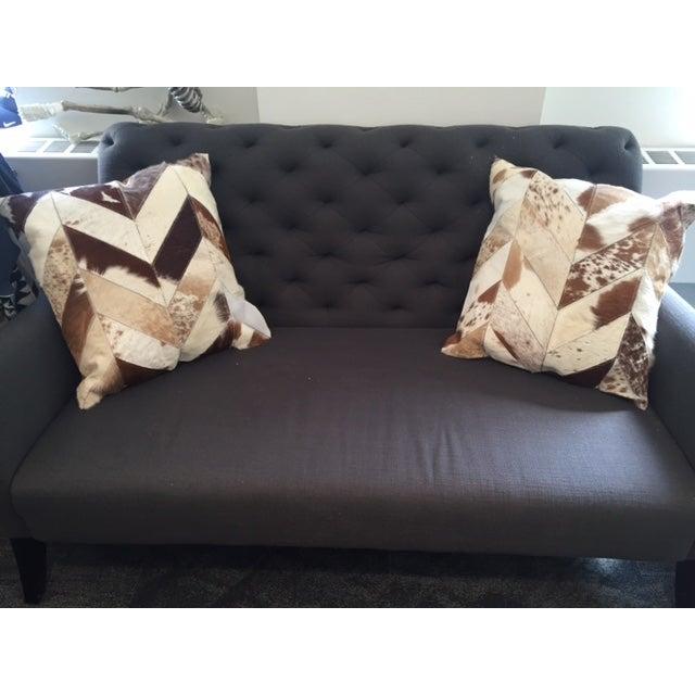Nourison Cowhide Pillows - A Pair - Image 7 of 7