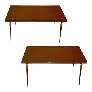 Vintage Jules Leleu Side Tables - A Pair