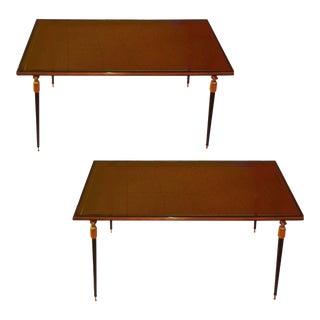Vintage Jules Leleu Side Tables - A Pair